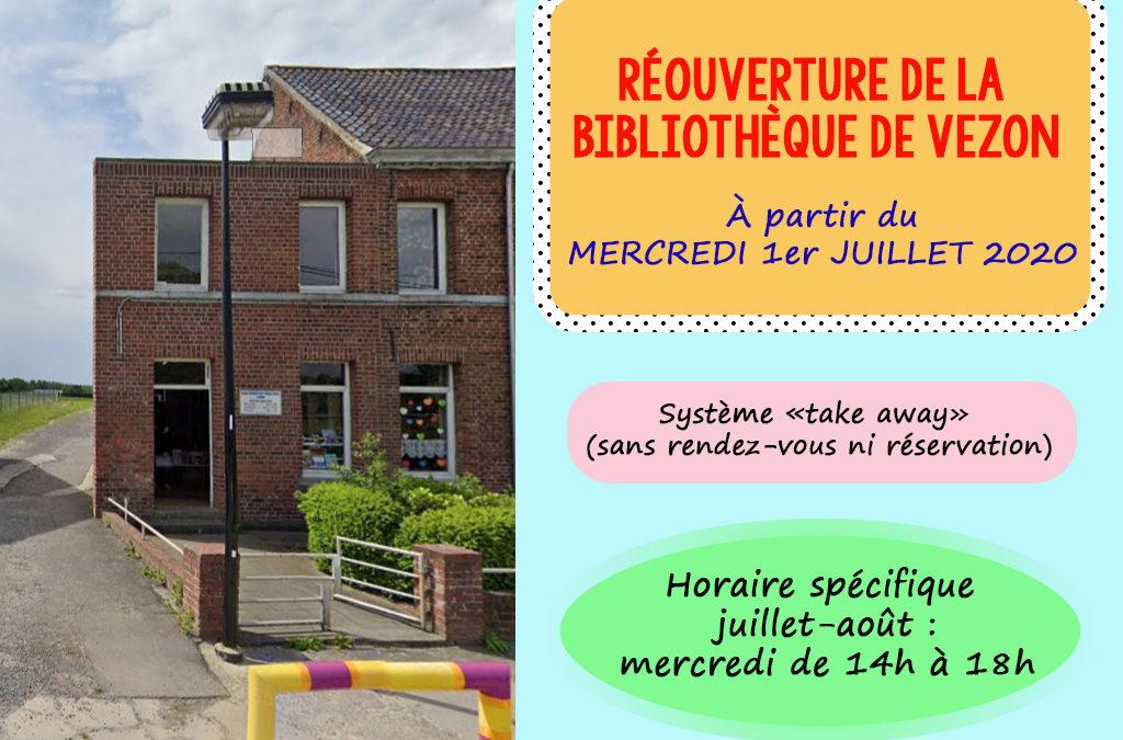 Réouverture de vos bibliothèques!